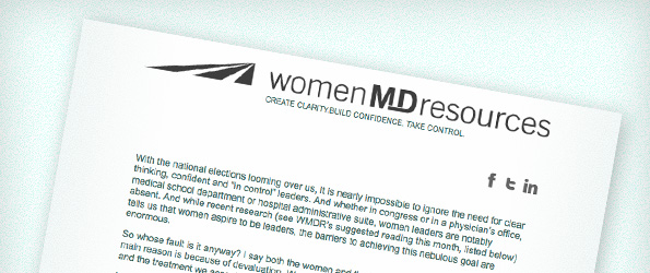 Can Women Physicians Really Lead?  What Will Influence Your Vote in November?