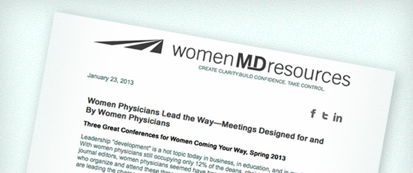 Now Trending: Women Physicians take the lead!